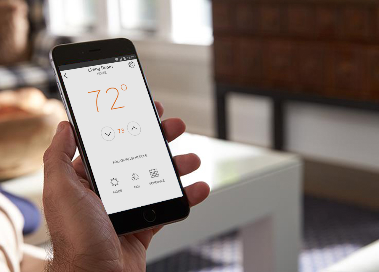 Intuitive Control - Giving you with total peace of mind and maximum home comfort, always come home to comfort and save energy when you're away with geofencing technology on your smart phone. Allowing for more than one user at a time across multiple devices, extend access to other members of your family who control and monitor the household thermostat too. It's that simple and efficient. No more wasted energy when you're out and stop coming home to a cold house. It'll even let you know humidity levels, when the filter needs changing, and when the temperature outside rises or drops outside of your threshold.
