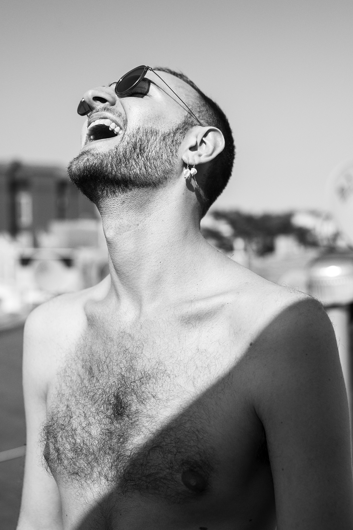 Simon Laughing (Brooklyn) , 2017