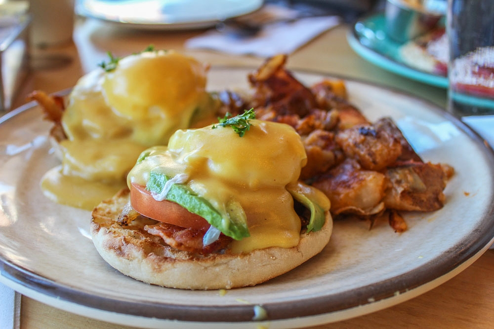 Our yummy Cali Benedict