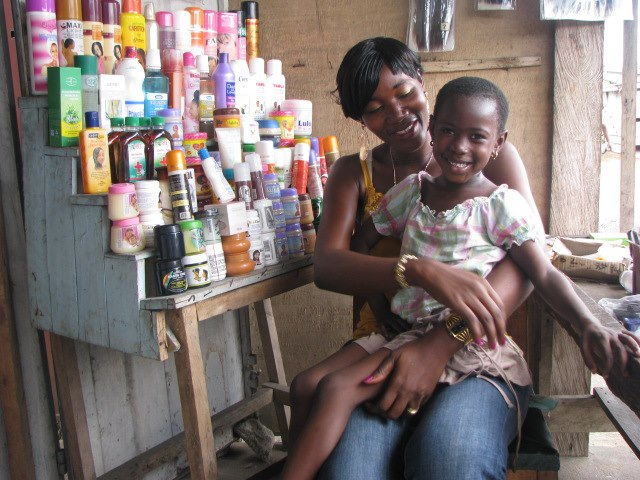 By providing the funds for Mary to purchase non-consumable products to stock her store, Point Hope helped her and her daughter to live without dependency.