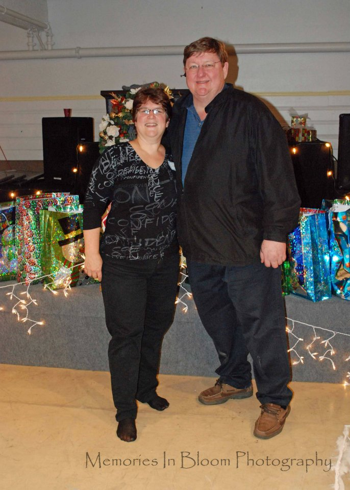 Fred Myers and Exec Director Jan Haynes at Teenista 2010