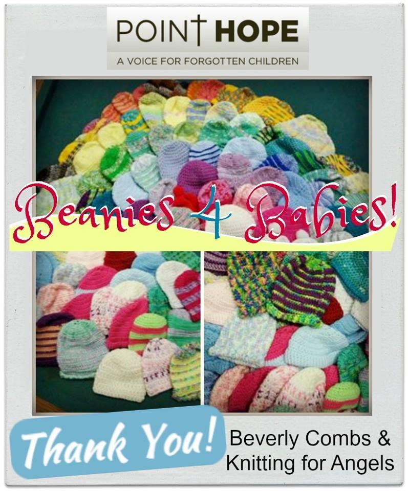 Beverly and knitting angels beanies again.jpg