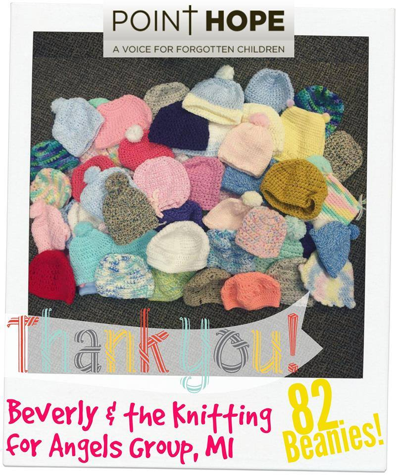 Beverly and knitting angels beanies.jpg