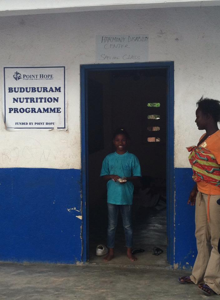 Point Hope Ghana Buduburam Nutrition Program