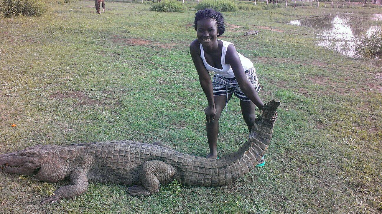 Crocodile Pond, Paga, Upper East Region, Ghana