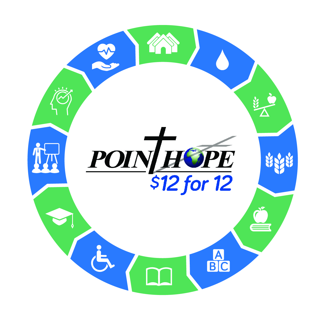 Your designated gift of $12 for 12 months allows Point Hope to maintain the foundation of our work with vulnerable persons in Ghana.