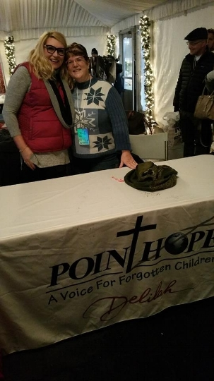 Delilah is ALWAYS a great voice for Point Hope, but she would appreciate YOUR help! The work of Point Hope is so important, won't you please share?