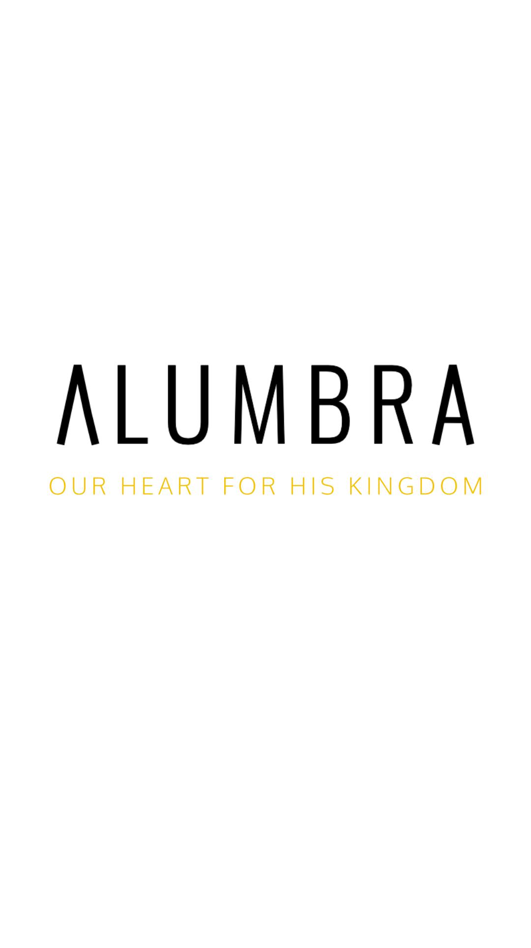 Alumbra logo and tagline