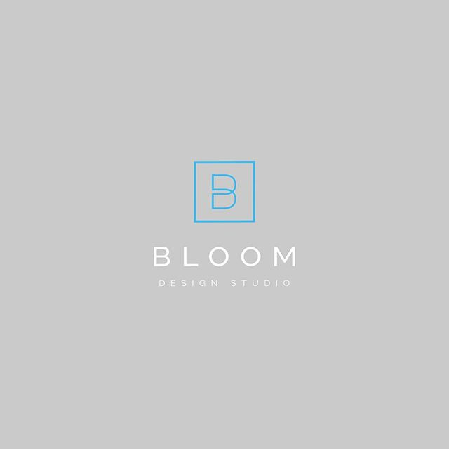 Logo design concepts for BLOOM Design Studio. #notused which is your favorite?
