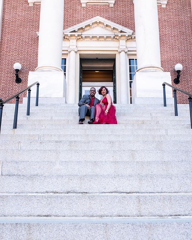 These two were so adorable and so much fun! 💕 . #photography #portraits #portraitphotography #annapolis #adventure #tulleskirt #beautifulpeoples #downtown #urban #couples #engagementphotos #engagement