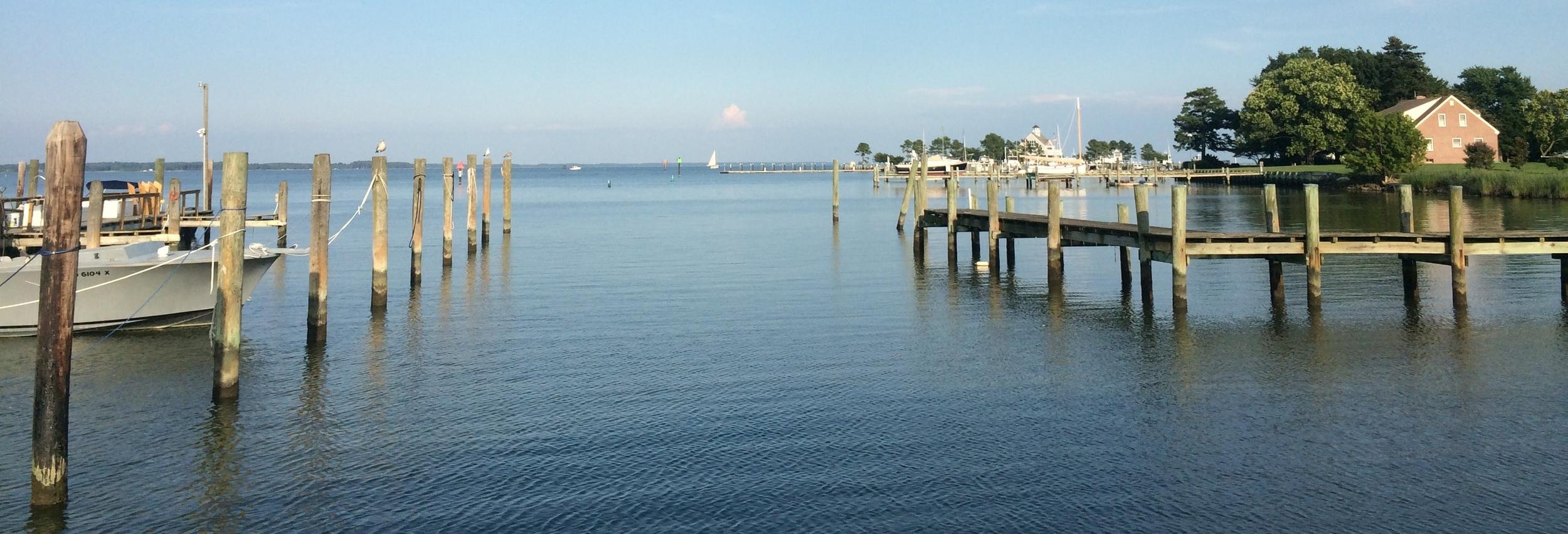 """Chesapeake Bay view from Maryland"""