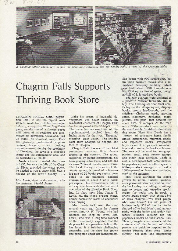 Publisher's Weekly article 1967 pg1 .jpeg