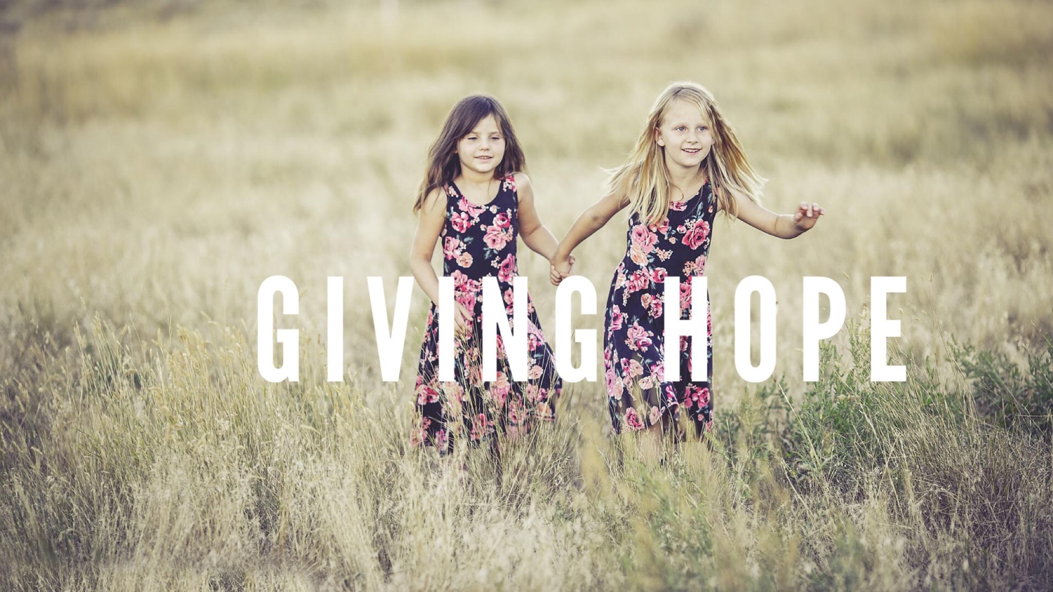Children around the world need hope
