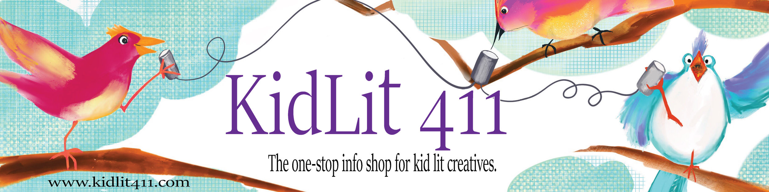 Second Place in the Kidlit411 banner competition!