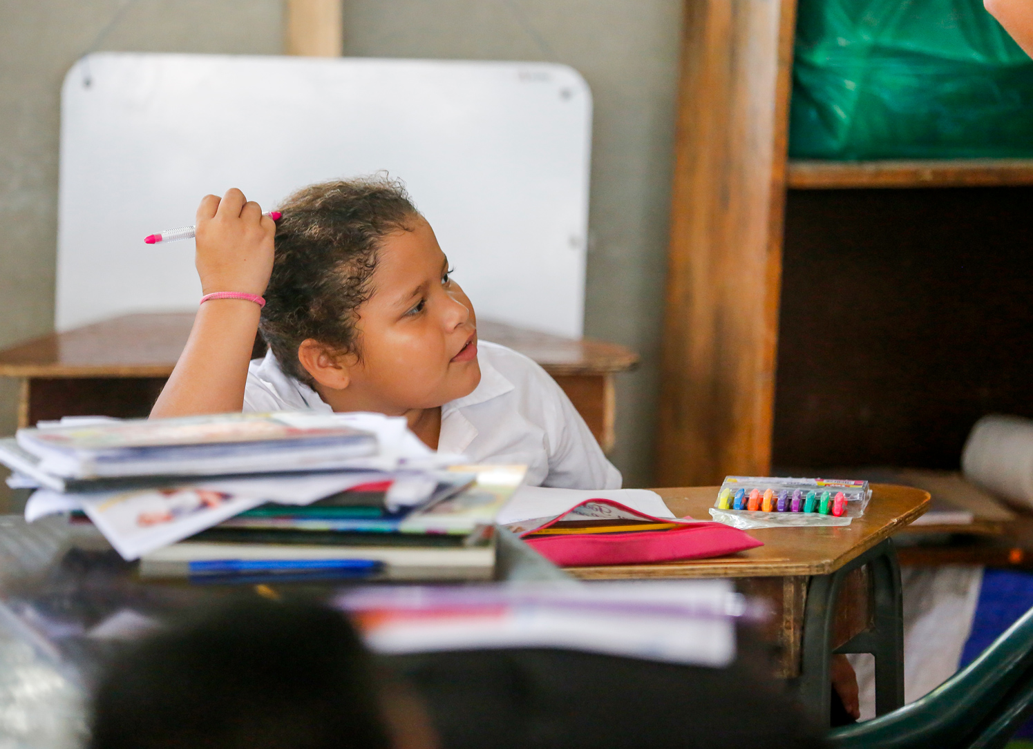 Young Student in Costa Rica School