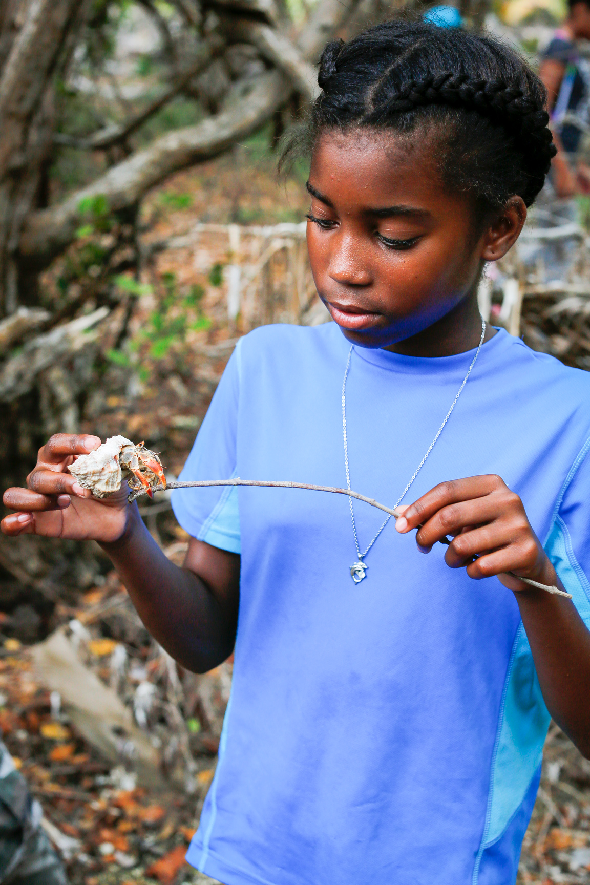 Conservation Students in Belize