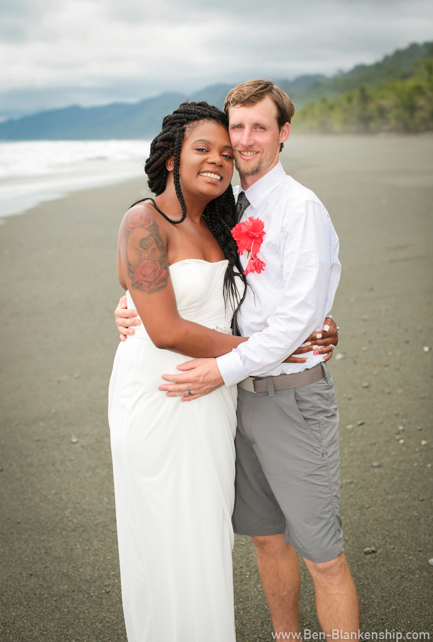 Jory and Sherri, newly weds! Taken in Carate, Costa Rica. June 2018.