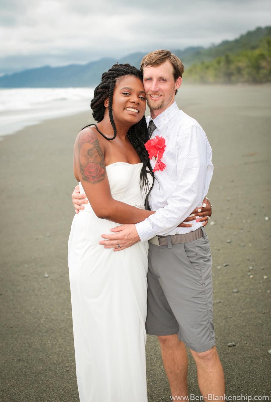 Jory and Sherri, newly weds!Taken in Carate, Costa Rica. June 2018.