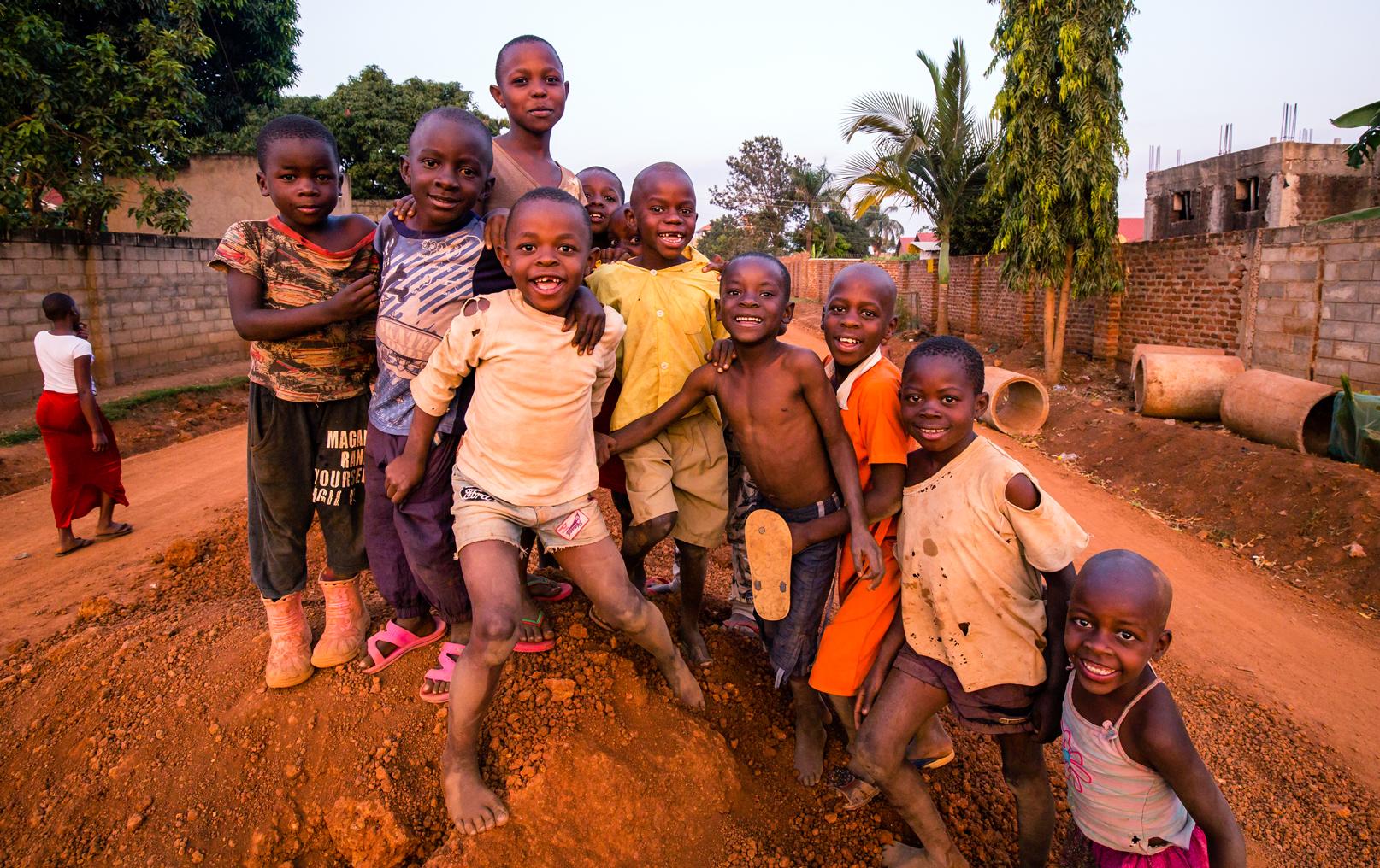 Iganga Town Kids in the Street