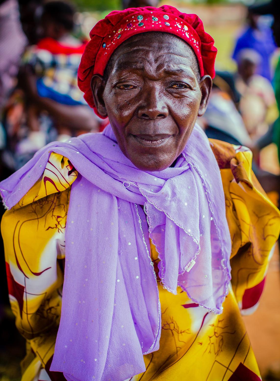 Woman in Yellow Gomesi