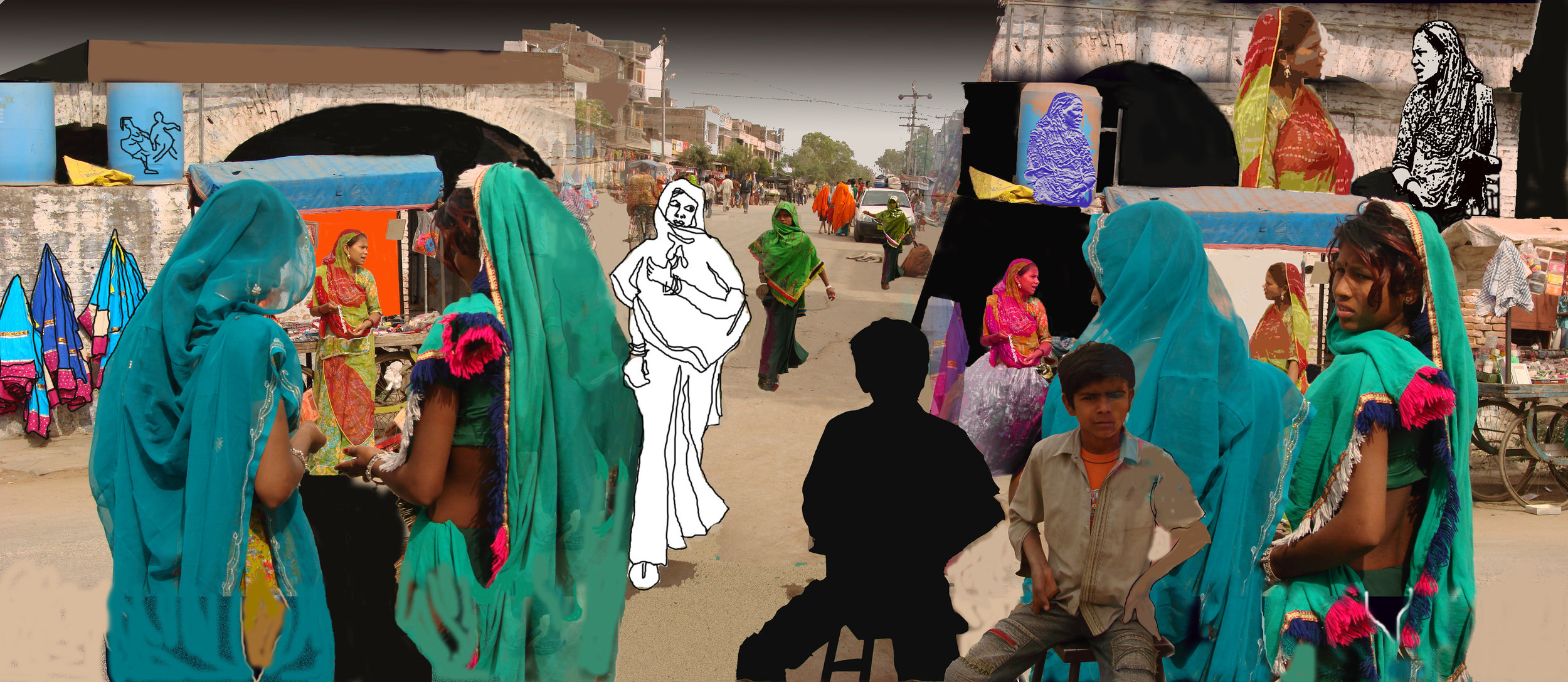 on the way to udaipur 20x46   09 jpg P Mansaram.jpg