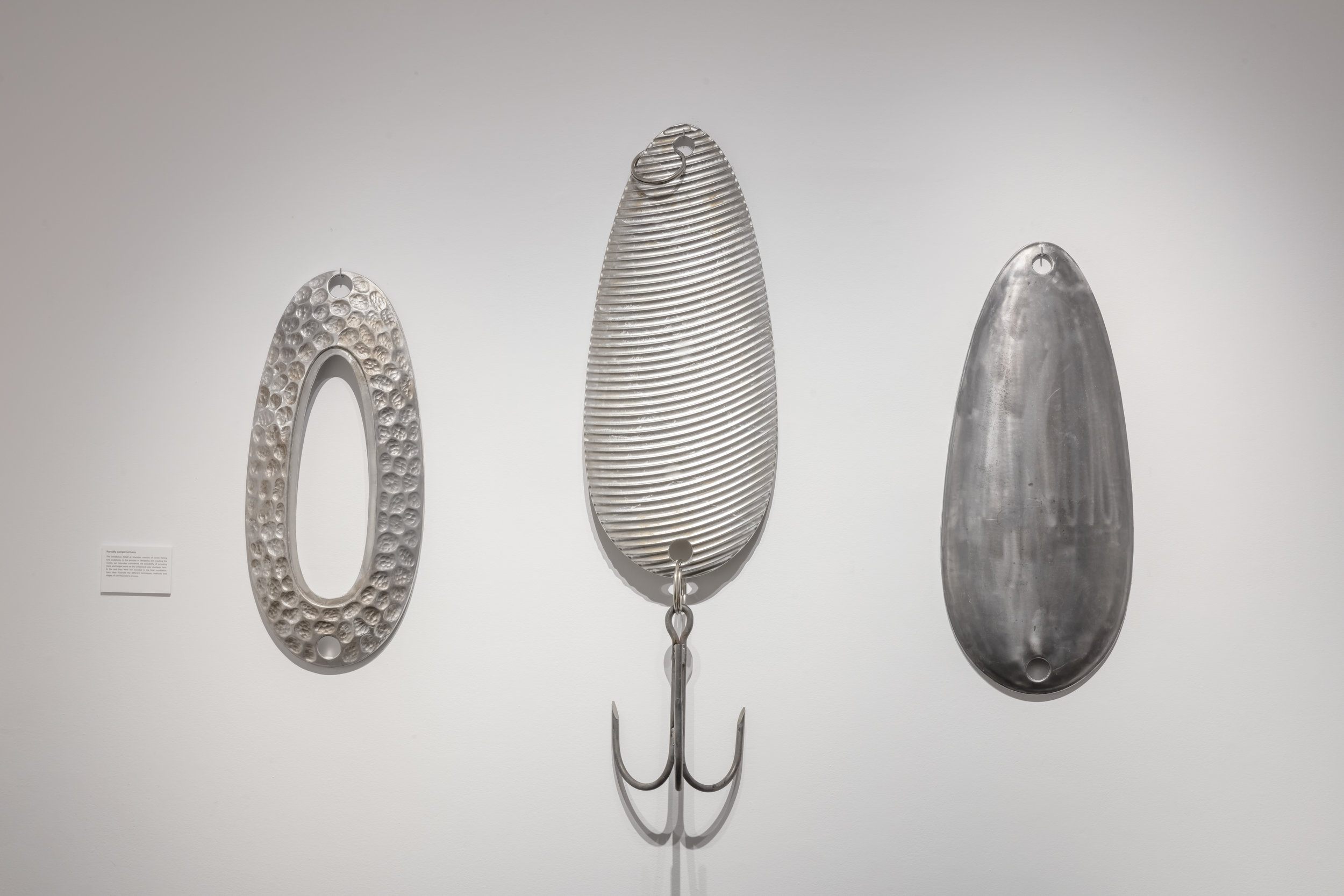 Couzyn van Heuvelen,  Casting Hooks , XIT-RM, Art Gallery of Mississauga. Photo by Toni Hafkenscheid.