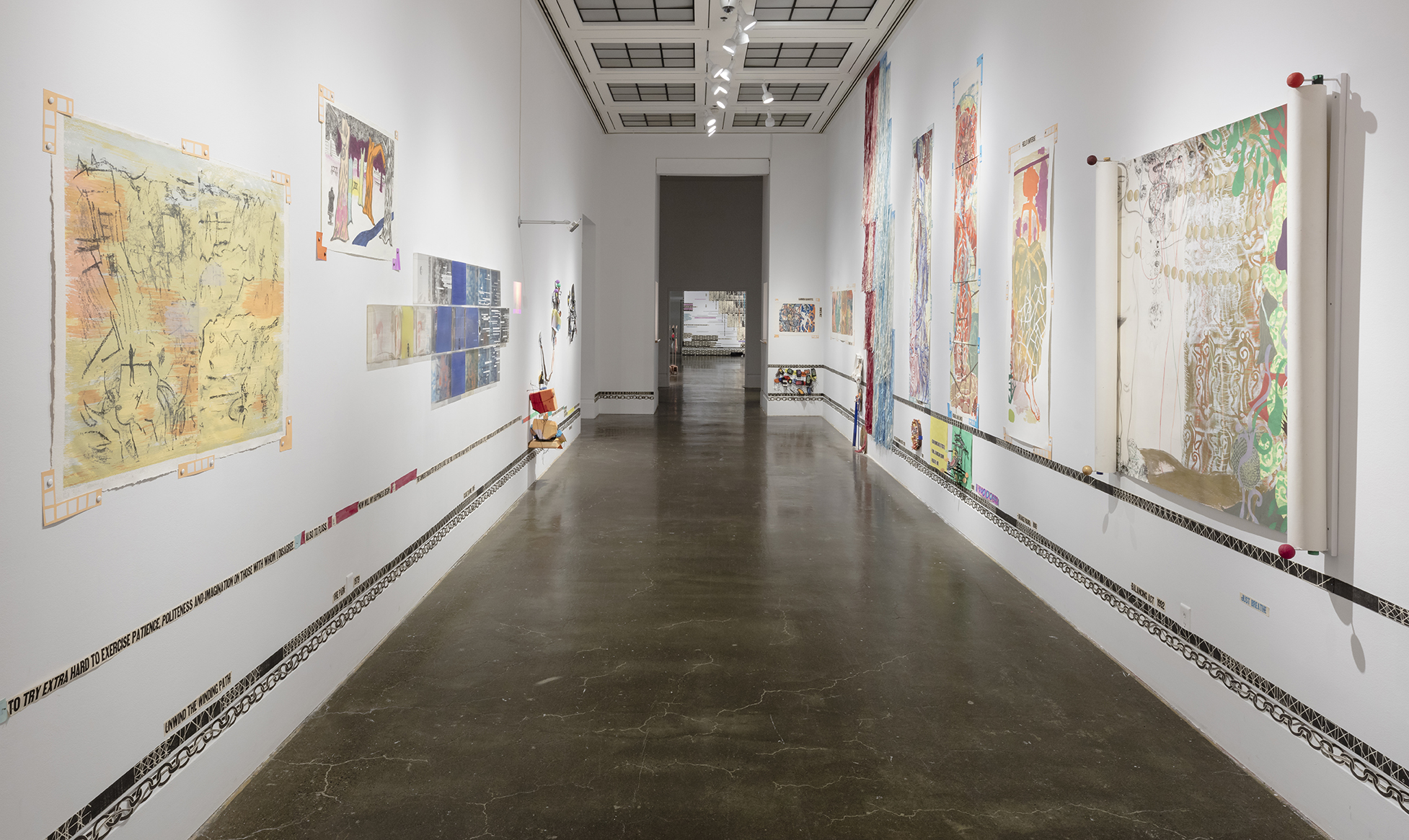 the past is never over , Robert Freeman Gallery, Art Gallery of Mississauga. Photo by Toni Hafkenscheid.