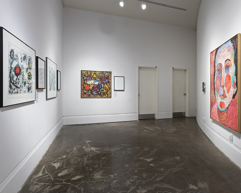 A Matter of Life and Death , Main Gallery, Art Gallery of Mississauga. Photo by Toni Hafkenscheid.