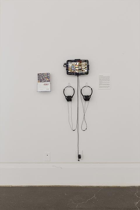 VISIBLE , Robert Freeman Gallery, Art Gallery of Mississauga. Photo by Toni Hafkenscheid.