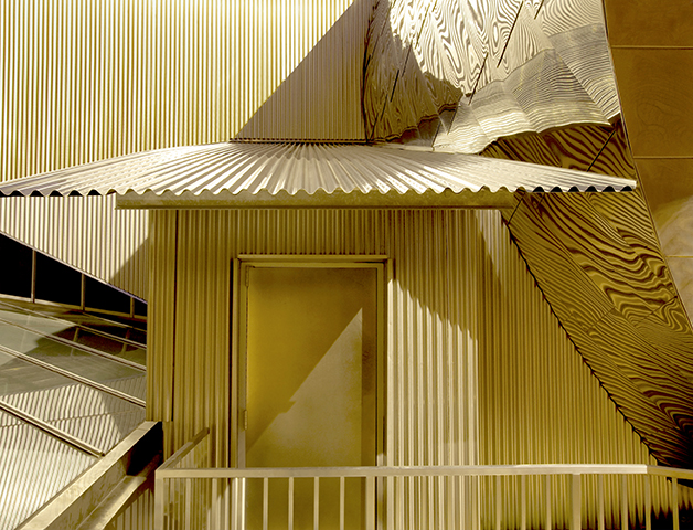 Glen Jones,  The Golden Entrance , 2012. Archival digital print.