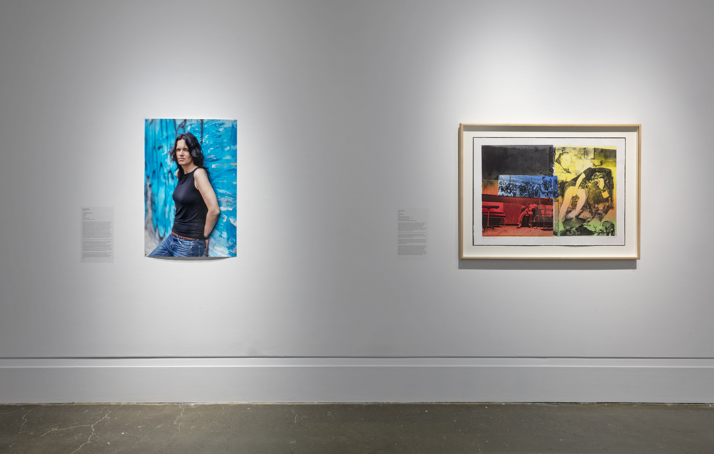 niigaanikwewag, Robert Freeman Gallery, Art Gallery of Mississauga, Photo by Toni Hafkenschneid