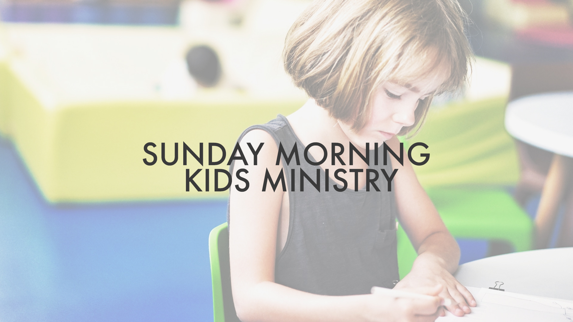 Sundays,10:00am - One Love Kids offers classes for children between preschool and 5th grade each Sunday during our 10:00am service. Drop your kids off at the gate to the left of the main building, and our dedicated volunteers will take it from there!