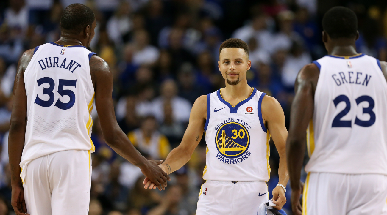 The Golden State Warriors, NBA Champions 2018.