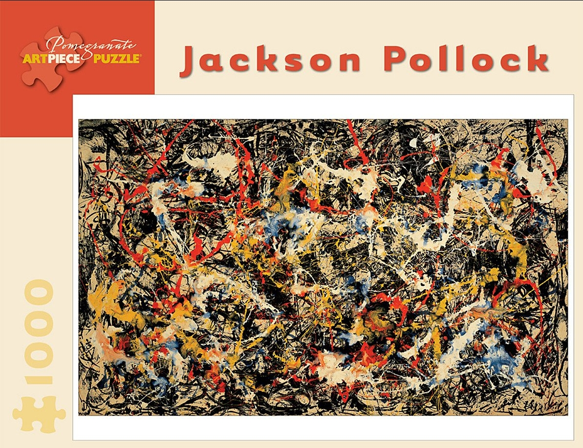 Jackson Pollock 1000 piece puzzle