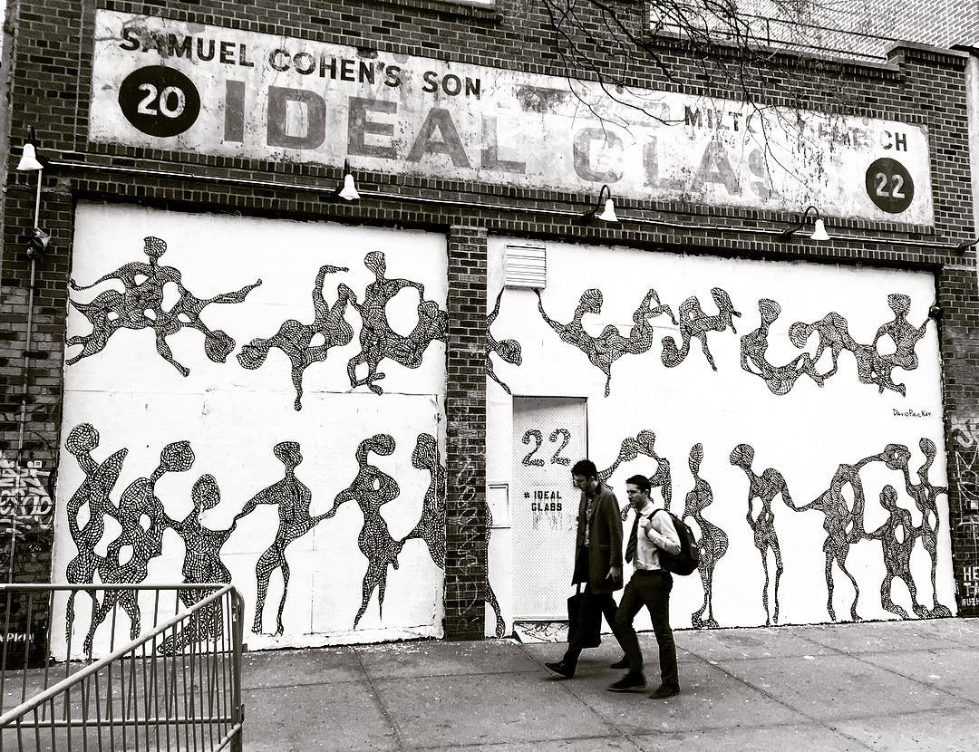 Another mural in New York City by David Paul Kay, 2016