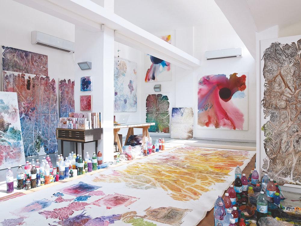 Inside Reshef's Tel Aviv Studio (2016)