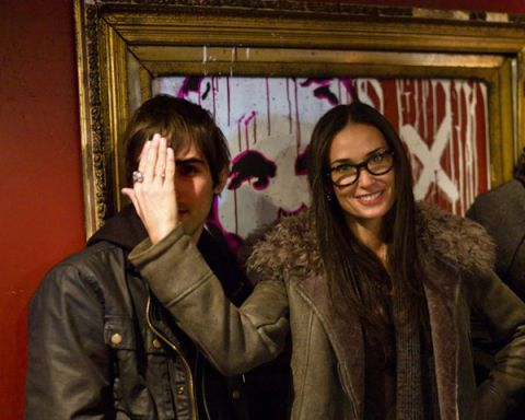 Actress, Demi Moore with ThankYouX