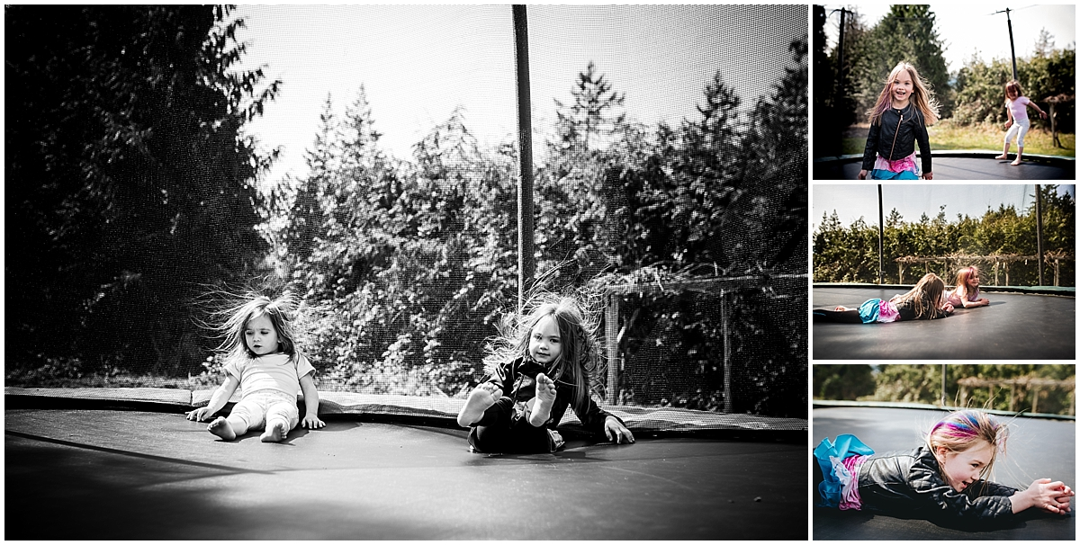Funny story - when my sister and I were kids, my mother left us with a babysitter for the very first time. We were playing on the trampoline, and my sister fell into me. She smacked her head on mine, and there was instantly blood everywhere! Of COURSE she cracked her head open on our very first time being babysat...OF COURSE. I thought her stitches were pretty damn cool. If I remember correctly, when she got them out the Dr. taped them to a prescription paper and drew a silly little face!