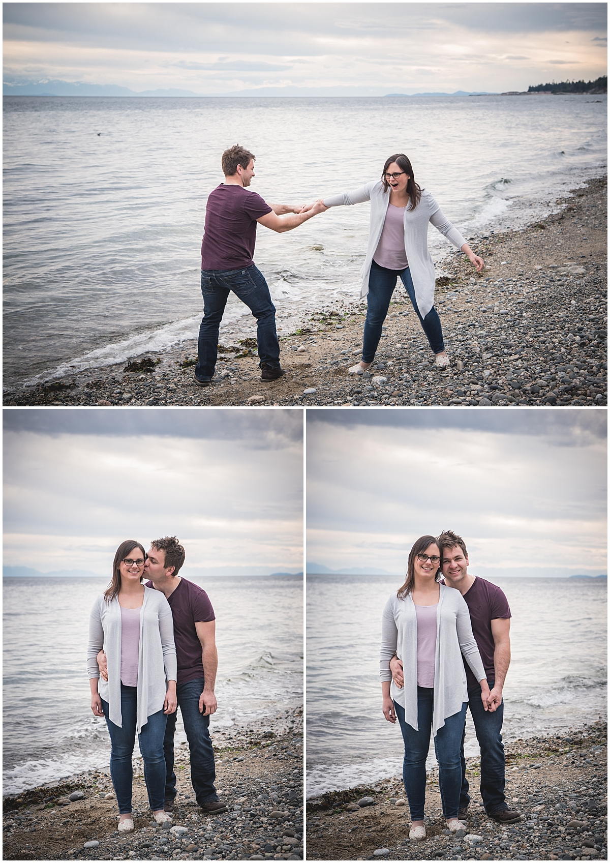 It's been 5 years and he's only tried to throw her in the ocean once (that I know of...) I think that's success!