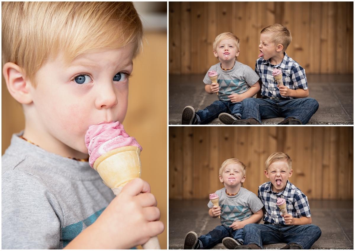 Such dapper little dudes for their photoshoot!