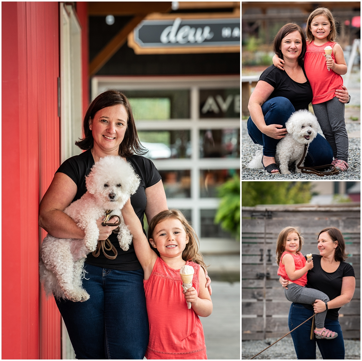 I can't get over this little fluffball that came for the fun! He was so well behaved, and a great poser!