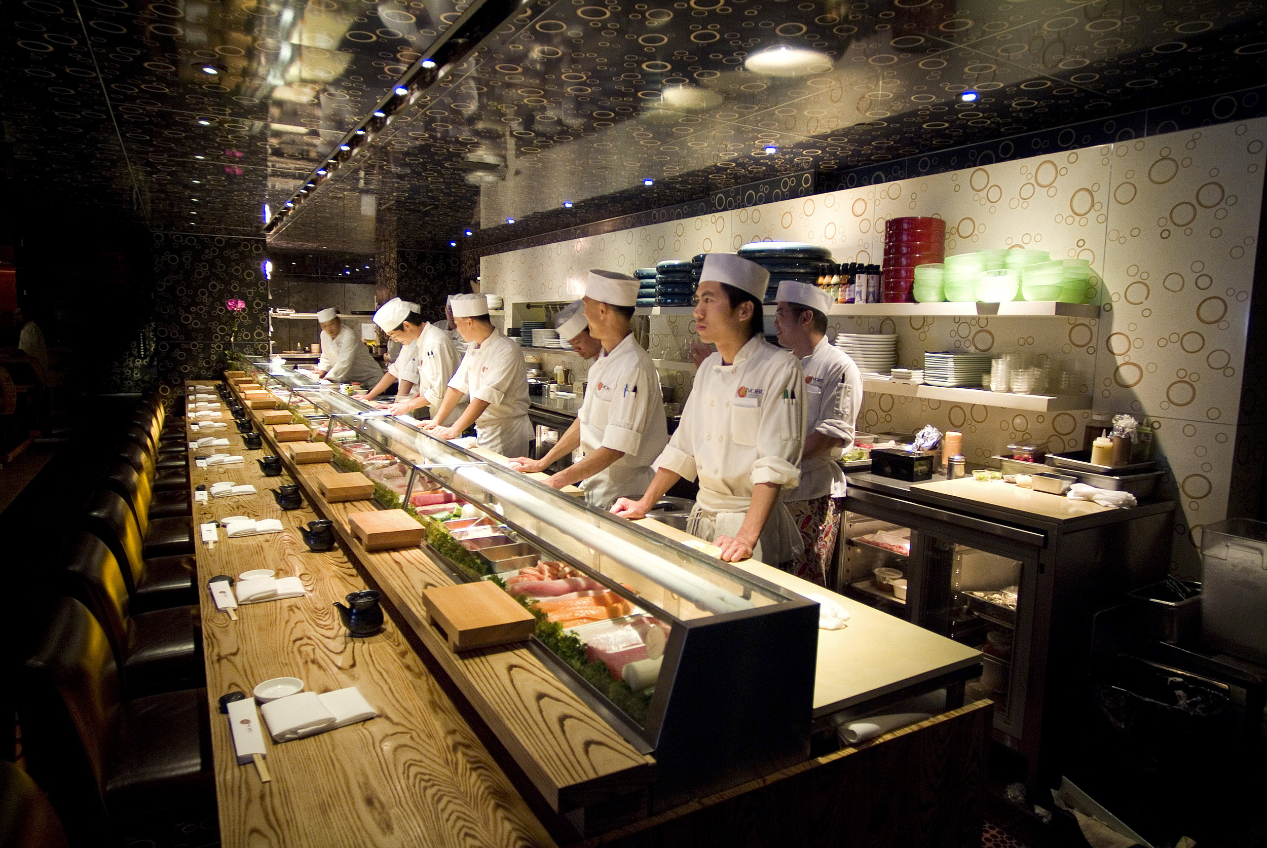 Nobu 57 in NYC for Chef Nobu Matsuhisa