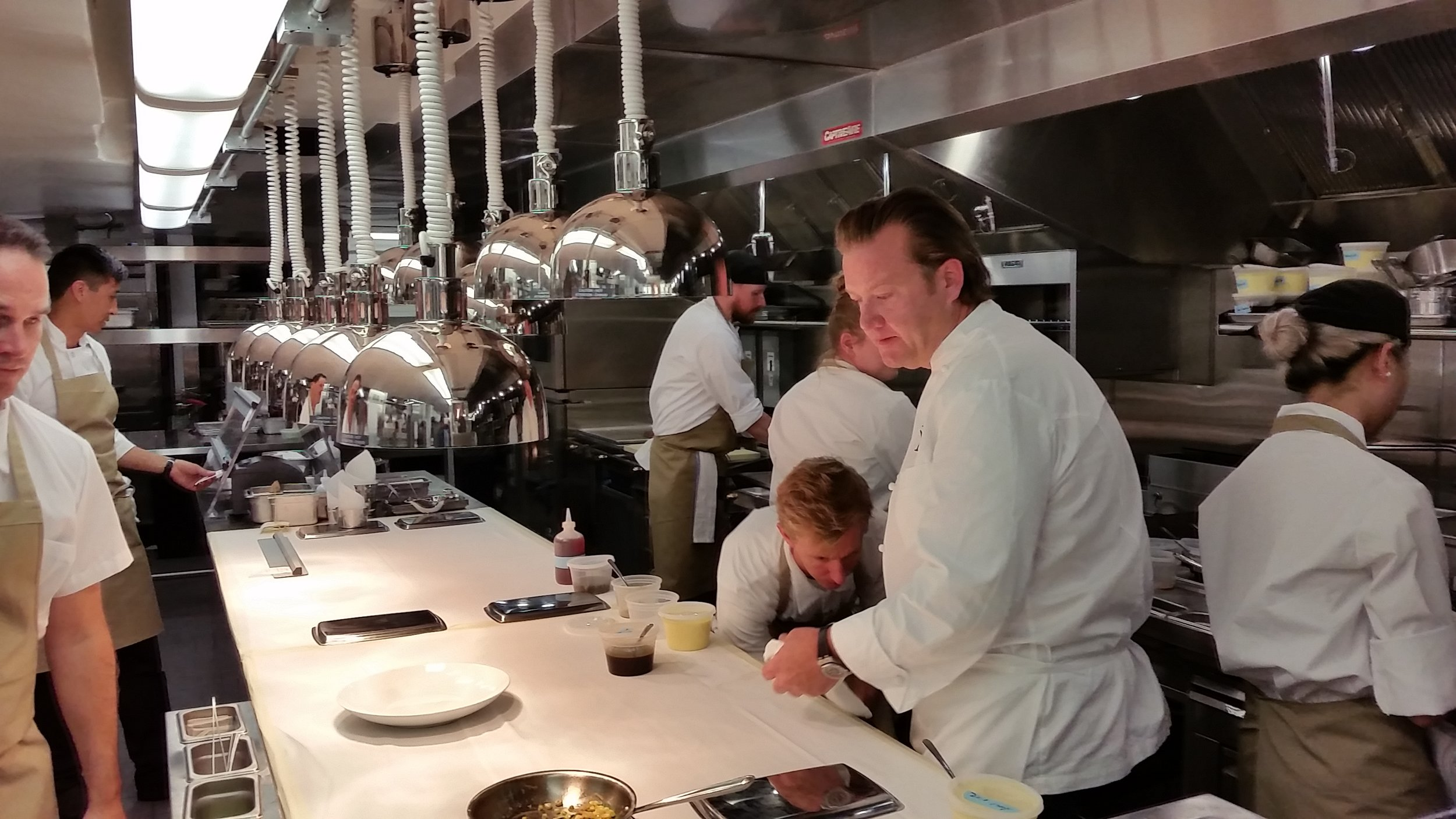 Chef Michael White at Vaucluse