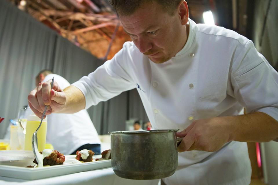 Chef Cornelius Gallagher