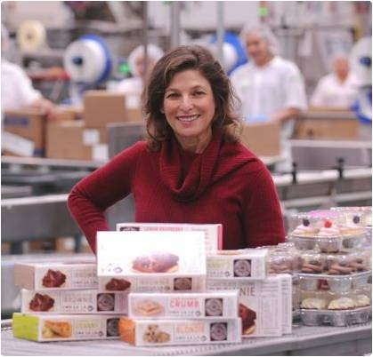 Sandy Solmon, founder, president, and CEO of Sweet Street Desserts