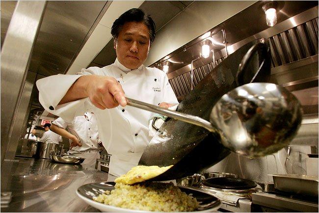Chef Yuji Wakiya at Wakiya in Gramercy Park Hotel   Photo:Hiroko Masuike