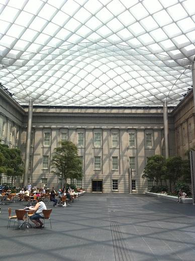 National Portrait Gallery Kogod Courtyard