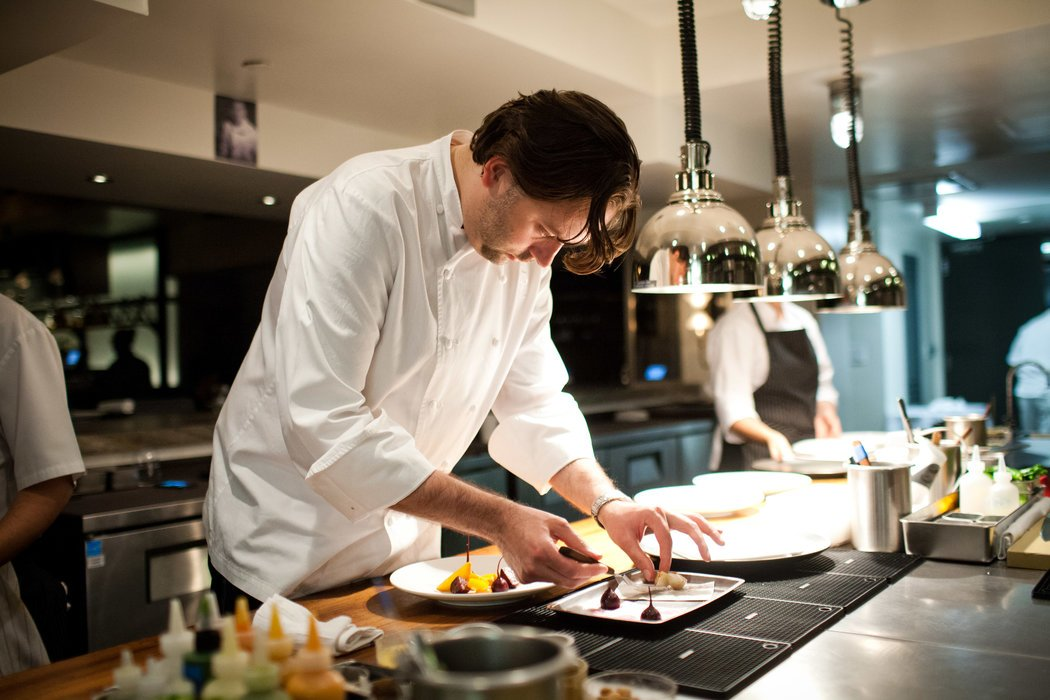 Chef Paul Liebrandt at The Elm