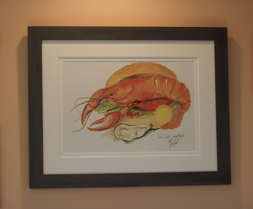 Lobster Burger  by Michael Richard