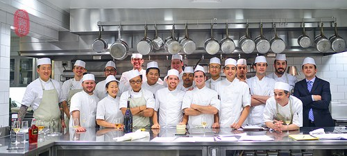 Chef Mark Ladner and team at Del Posto